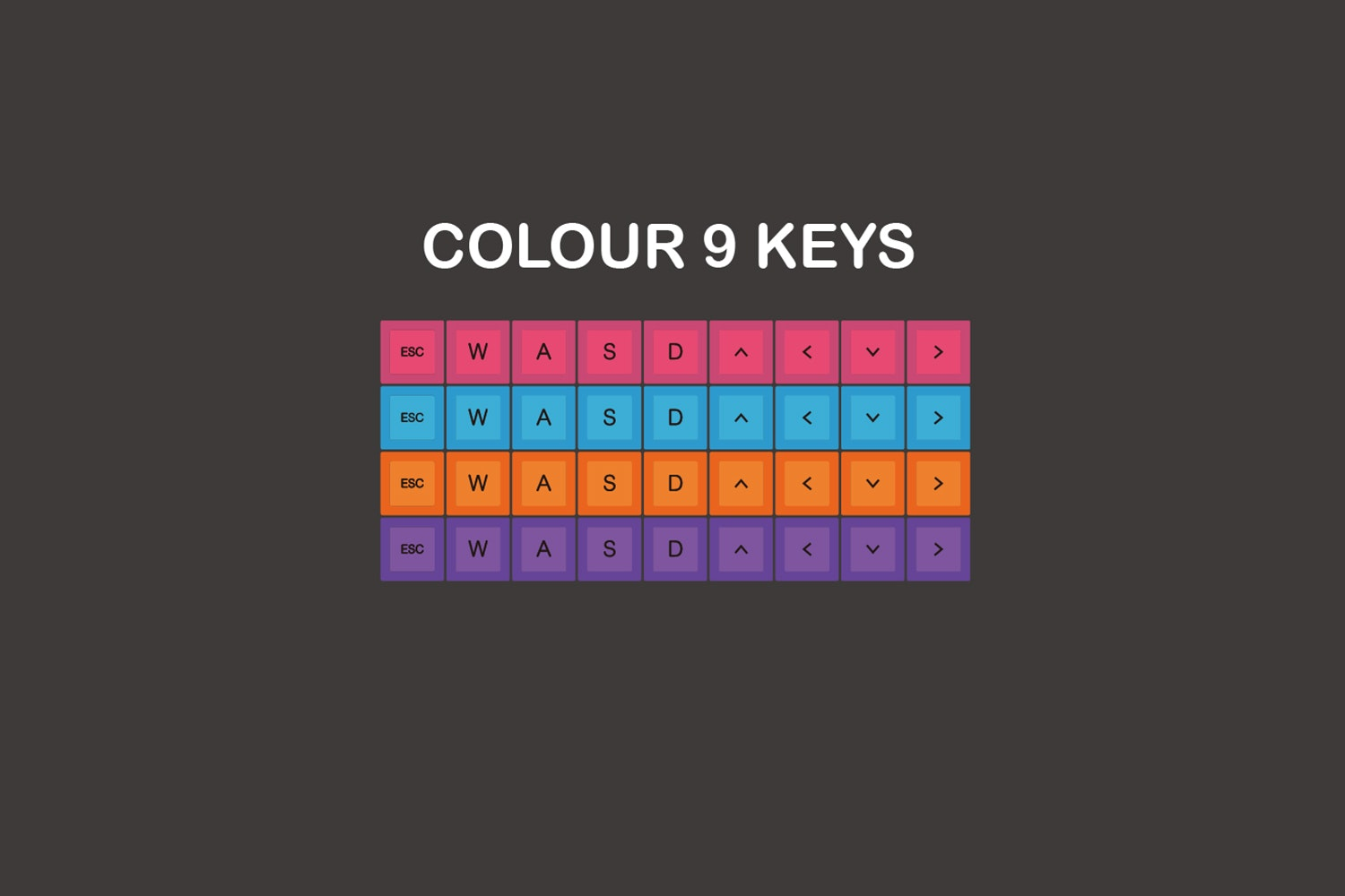 Color Keys (+$9)
