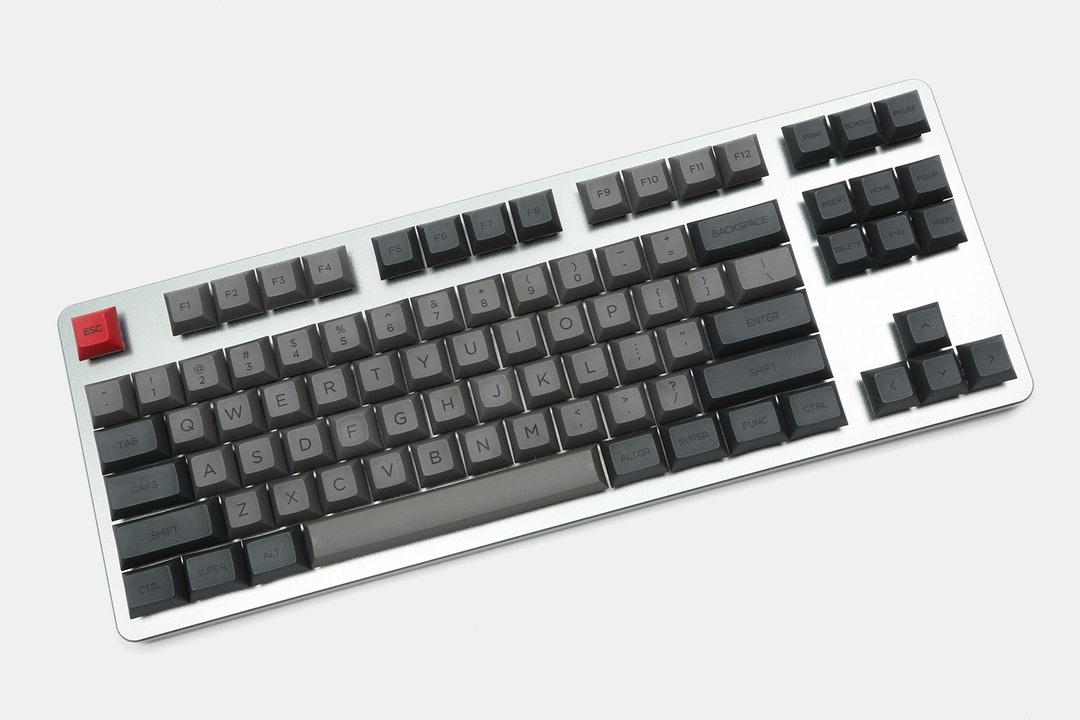 WinMix Retro Gray DSA Dye-Subbed Keycap Set
