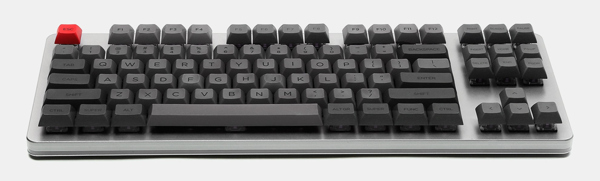 WinMix Retro Gray DSA Dye-Subbed Keycap Set