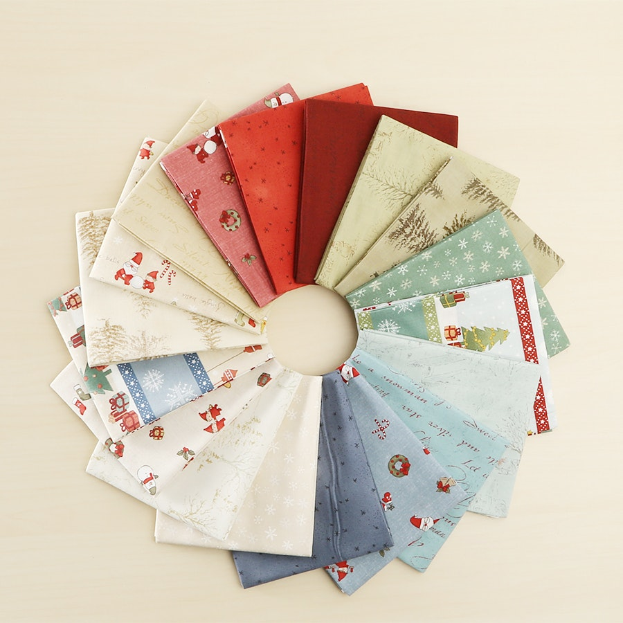 Winter Collection by Lecien Fat Quarter Bundle