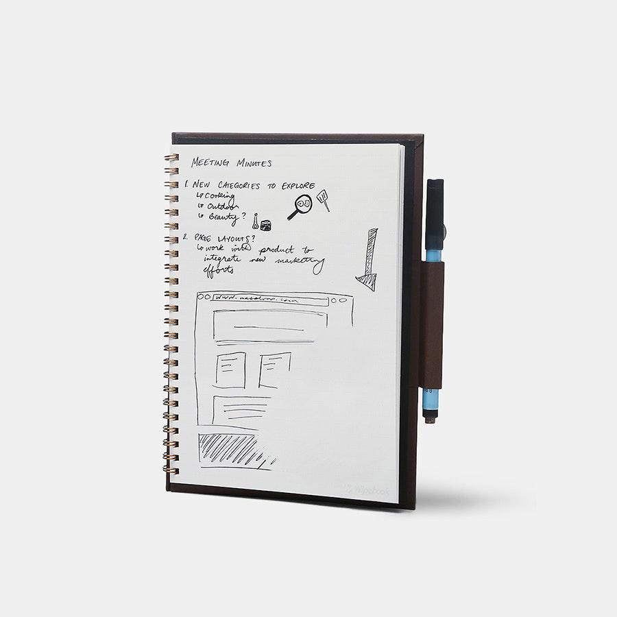 Wipebook Pro Whiteboard Notebook
