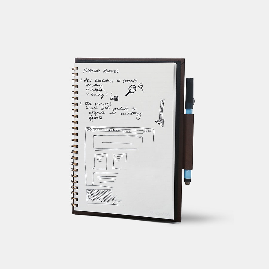 Wipebook Pro Whiteboard Notebook