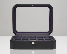 10-Piece Black/Purple