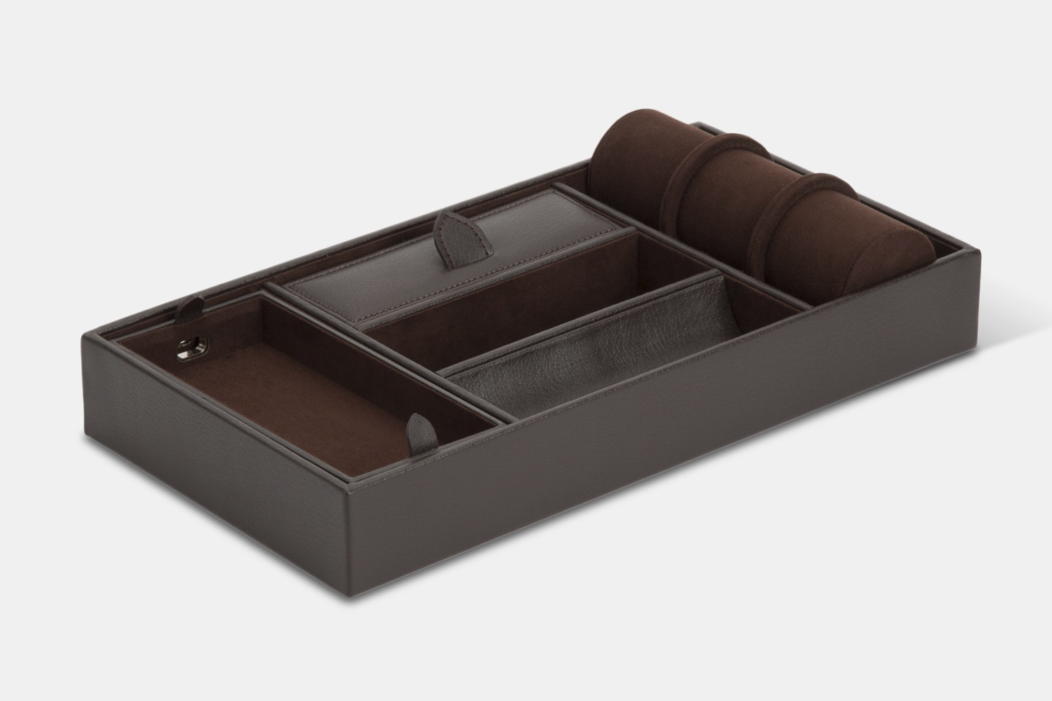 Blake Valet Tray With Cuff (2018) - Brown