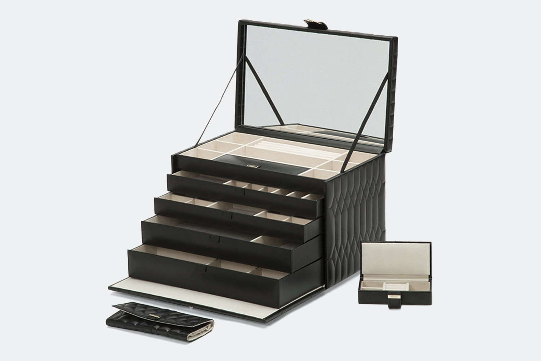 Extra Large Jewelry Case   Black (+ $200)