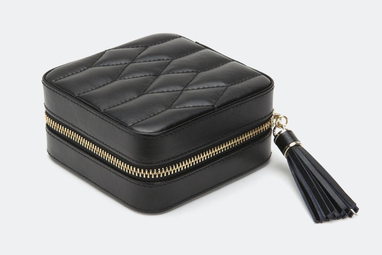 Zip Travel Case   Black
