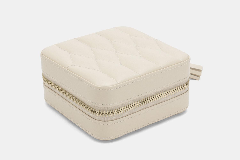 Zip Travel Case   Ivory