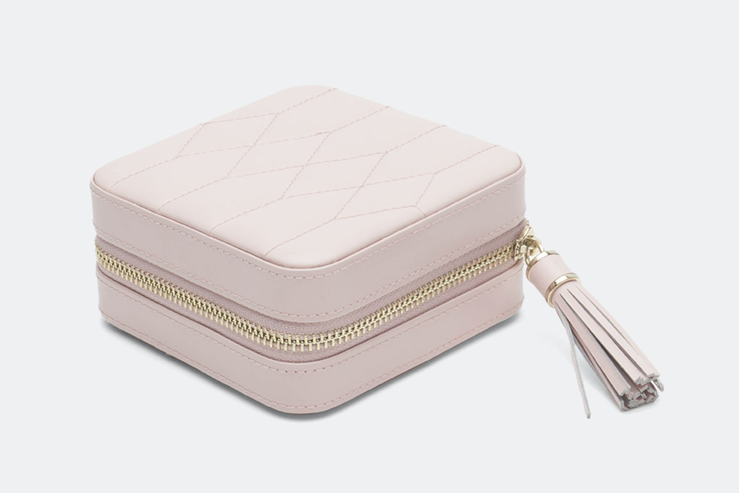 Zip Travel Case | Rose Quartz
