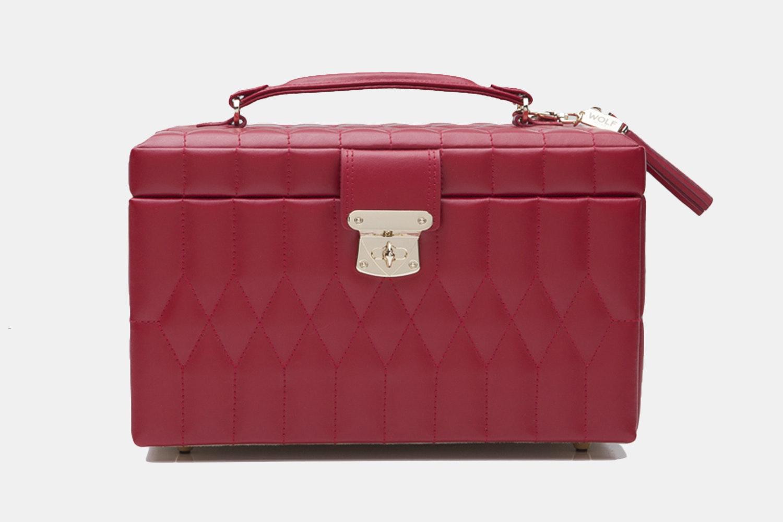 Medium Jewelry Case   Red (+ $90)