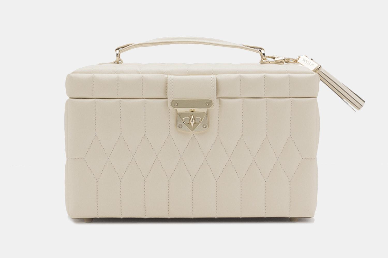 Medium Jewelry Case   Ivory (+ $90)