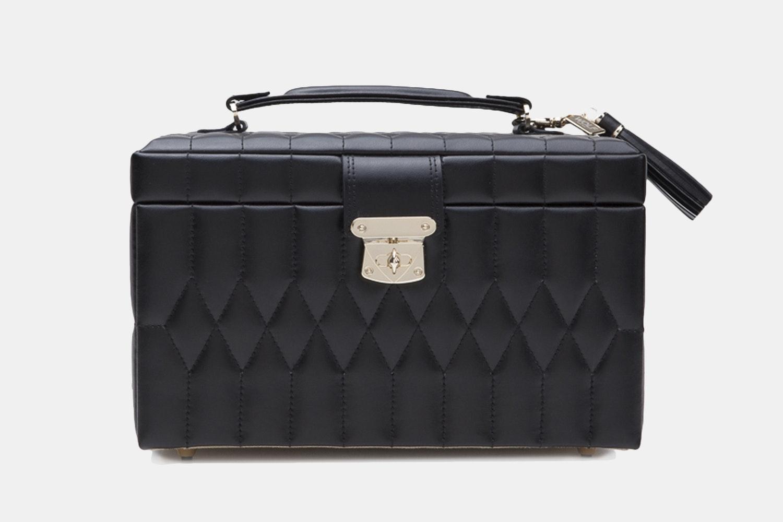 Medium Jewelry Case   Black (+ $90)