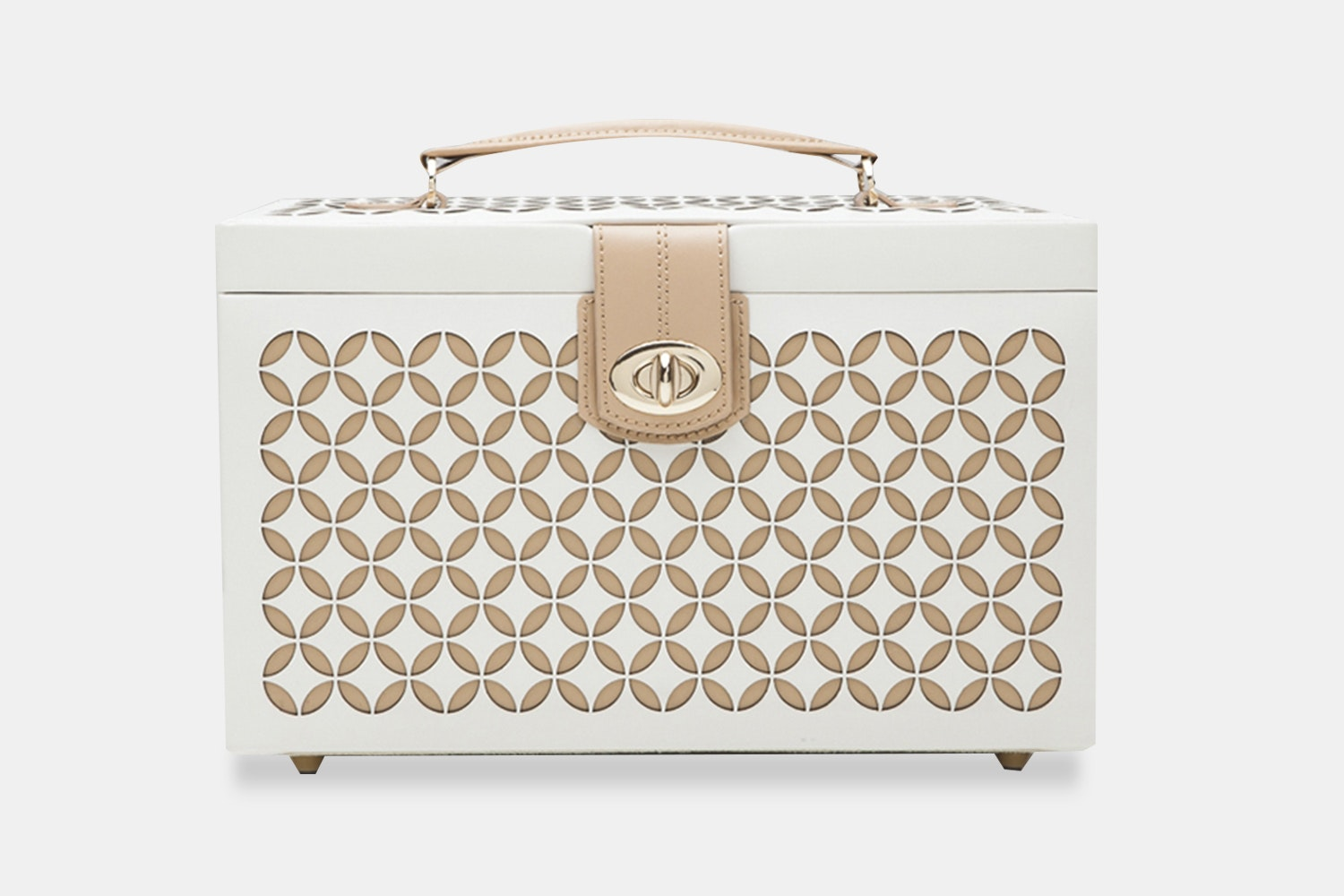 Medium Jewelry Box - Cream (+ $75)