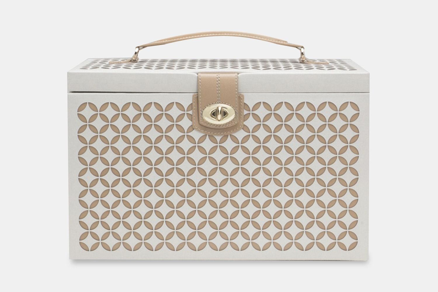 Large Jewelry Box - Creams (+ $165)