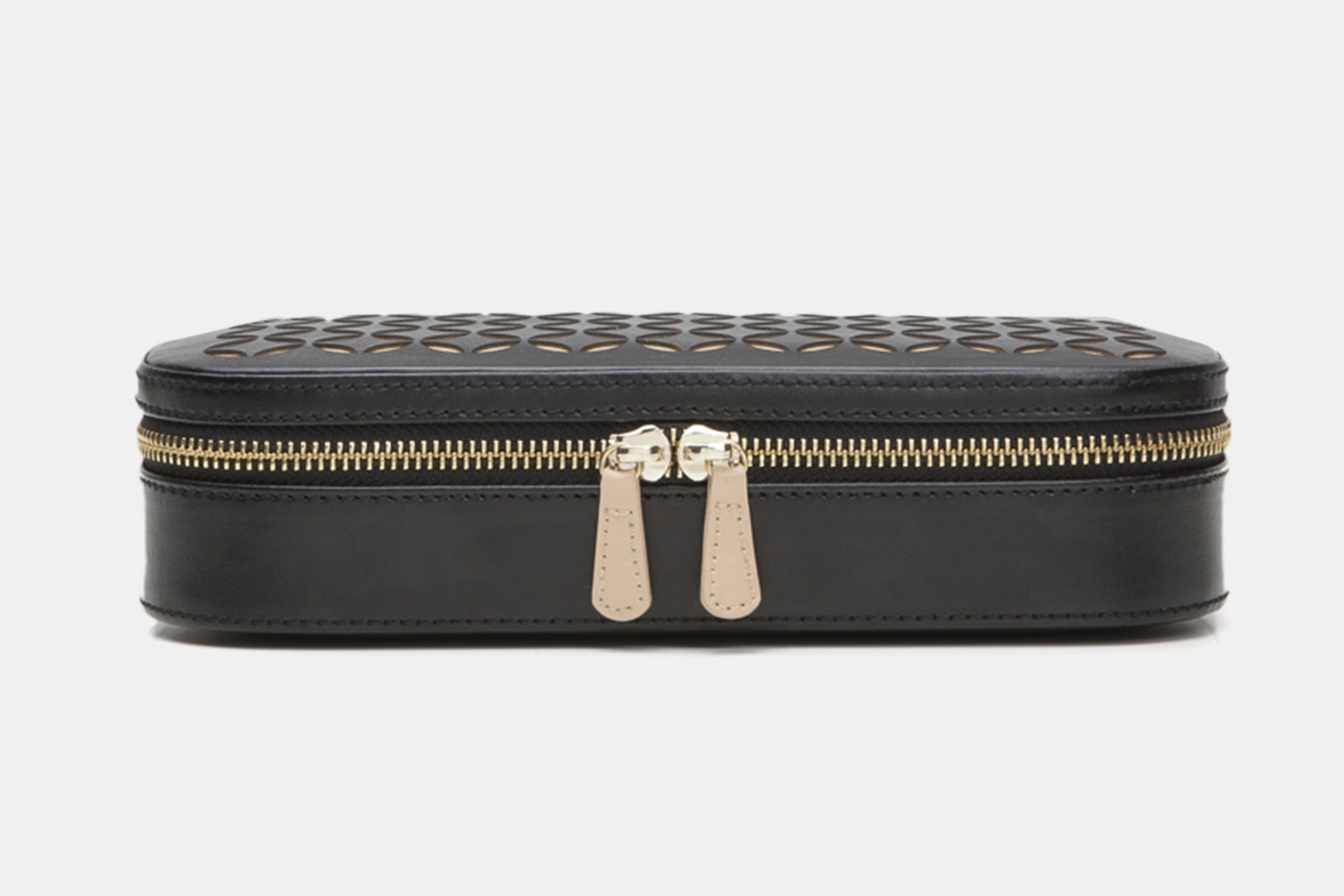 Zip Jewelry Case - Black