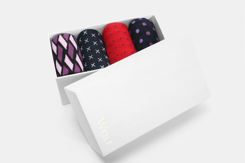 Wolf Clothing Co. Boxed Sock Set