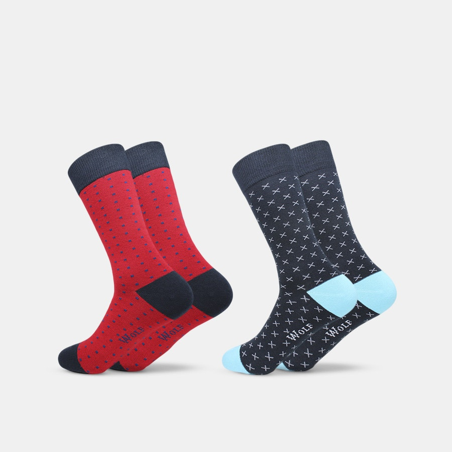 Wolf Clothing Co. Socks (2-Pack)