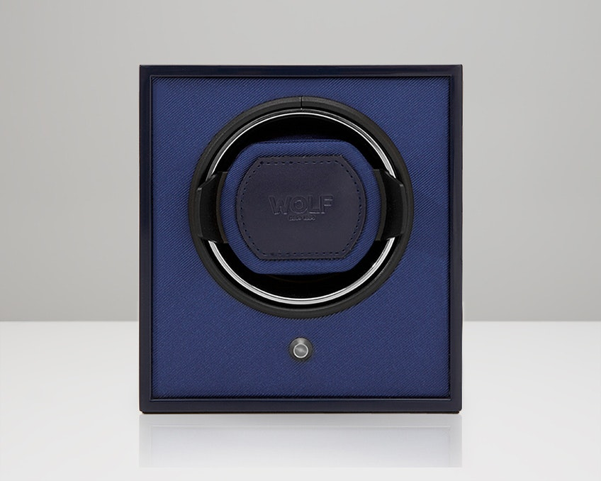 Navy Lacquered Cub Winder (+ $20)