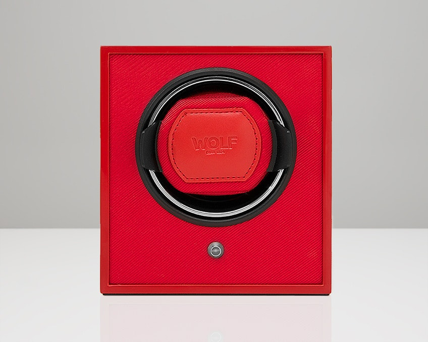 Red Lacquered Cub Winder (+ $20)