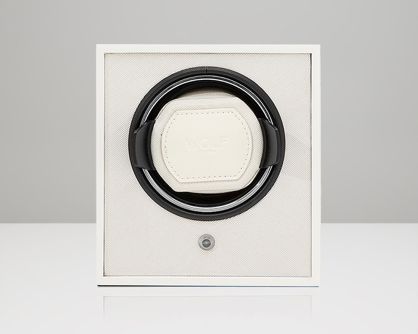 White Lacquered Cub Winder (+ $20)