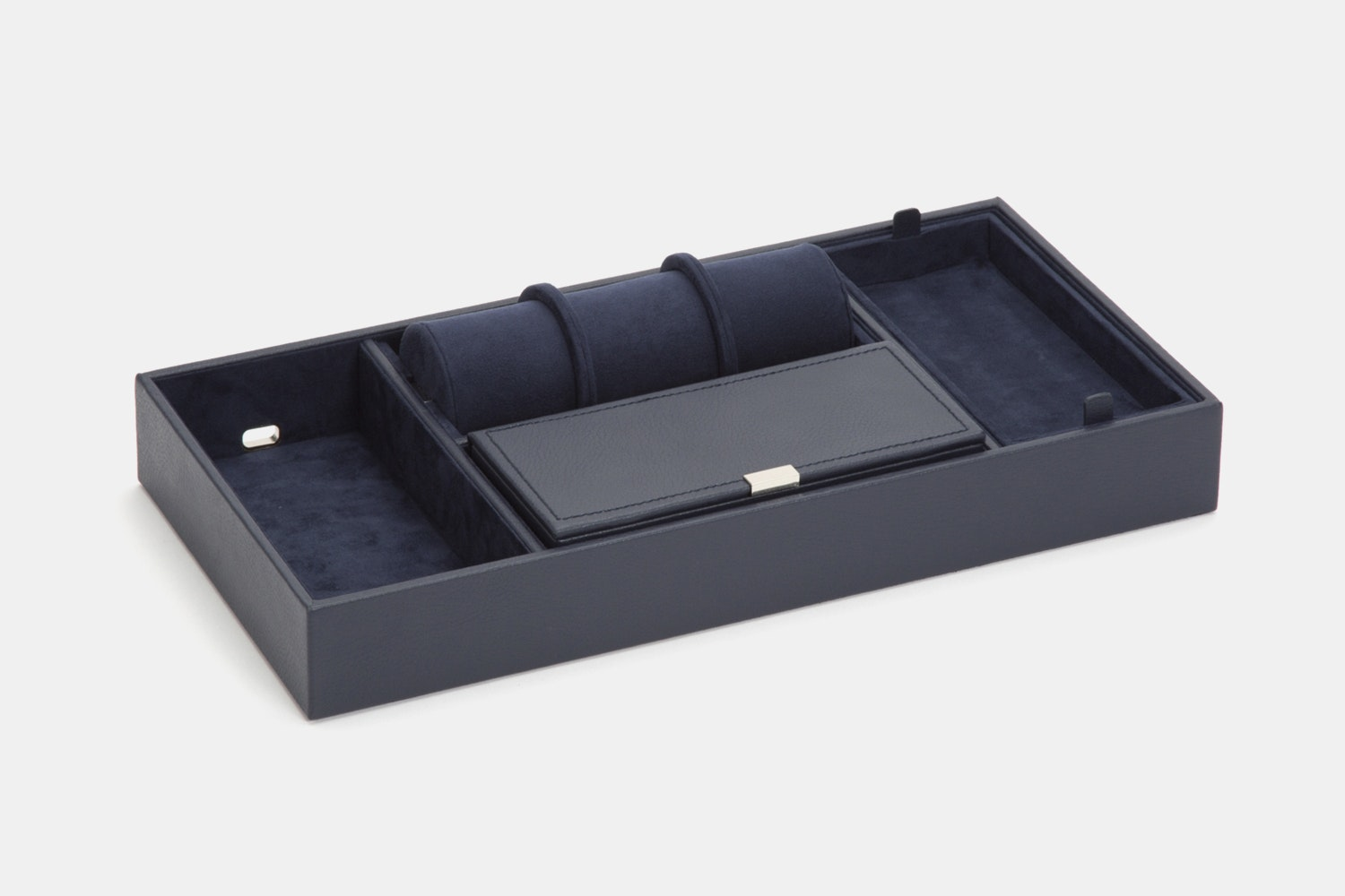 Howard Valet Tray With Roll - Navy