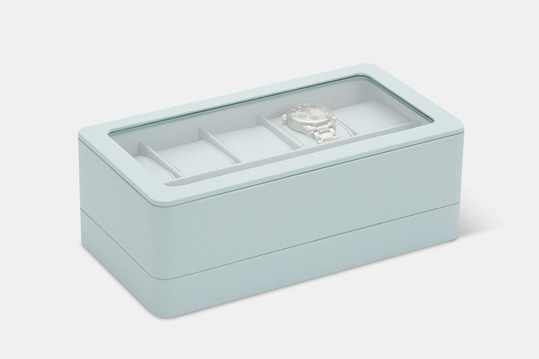 6-Piece Box w/ Apple Watch Strap Tray - Aqua