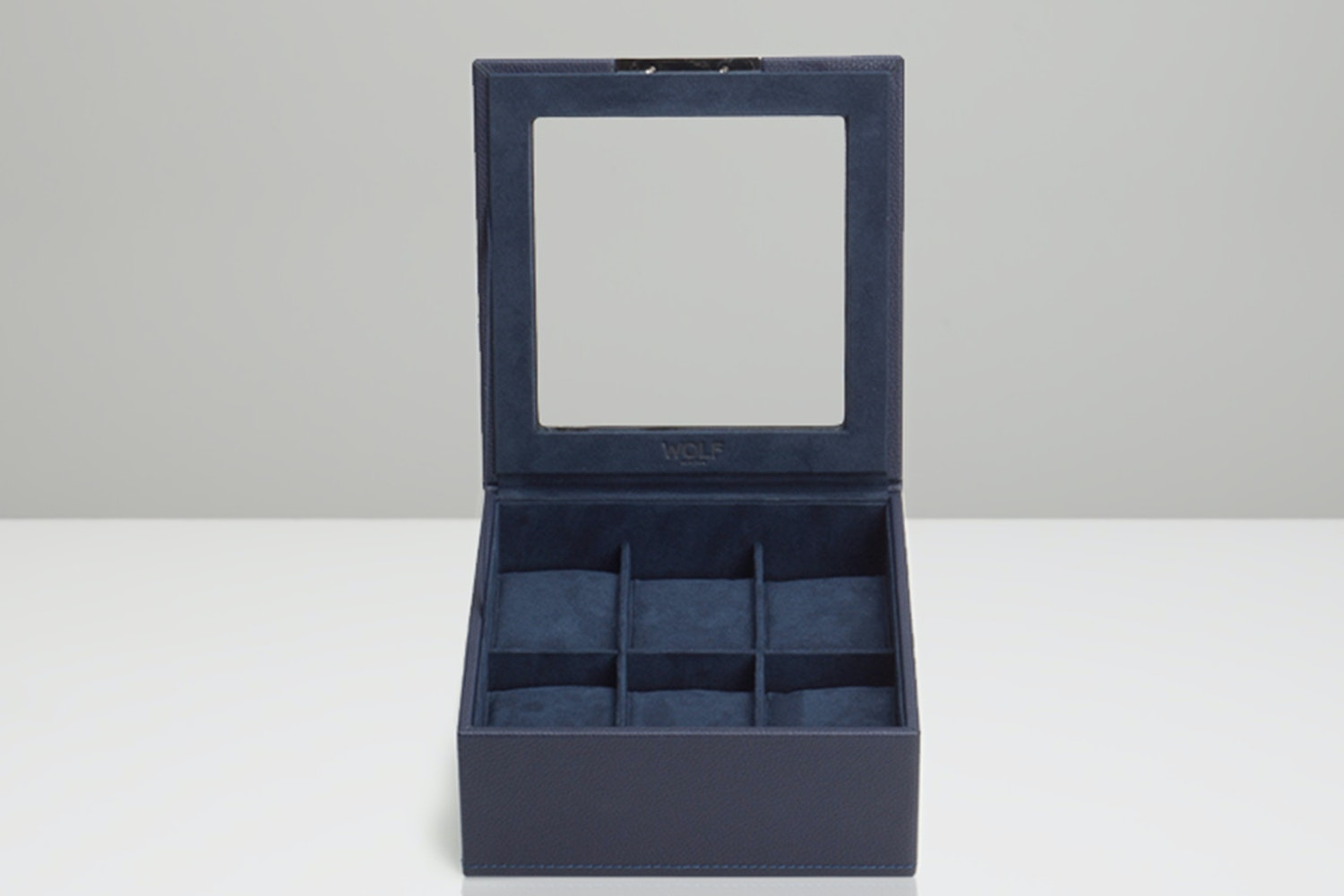 6-Piece Tray with Lid, Navy (- $22)