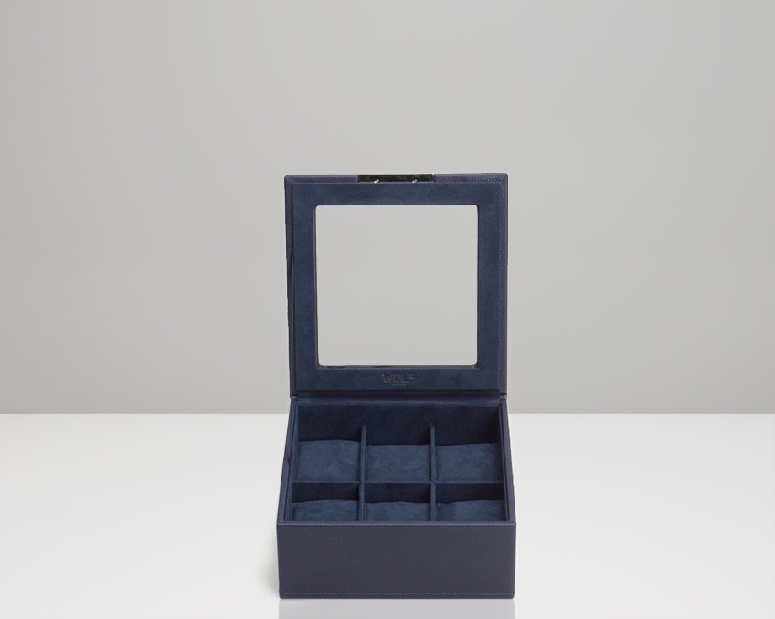 6-Piece Tray with Lid, Navy