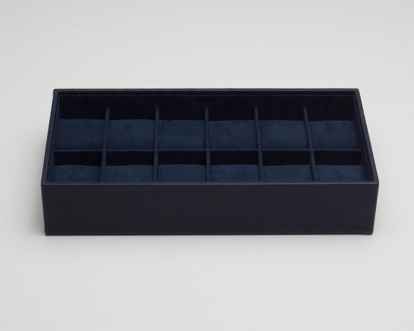 12-Piece Tray, Navy