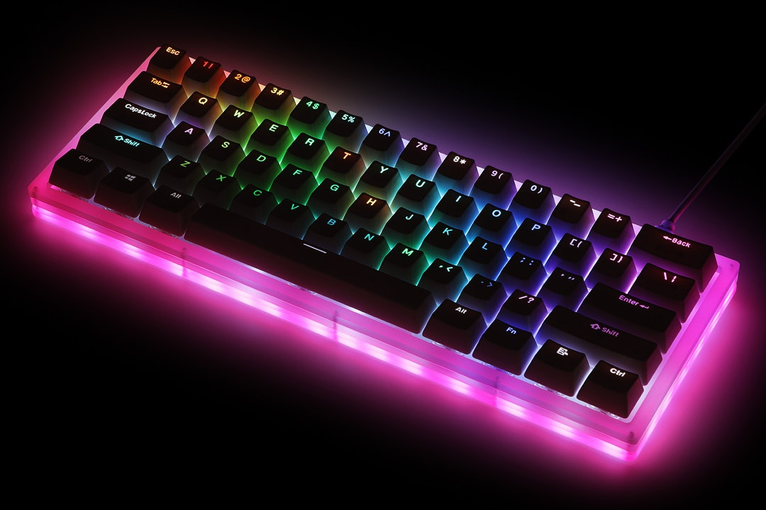 Womier K61 Acrylic Mechanical Keyboard