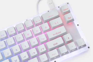 Womier K66 V2 Hotswap Acrylic RGB Mechanical Keyboard