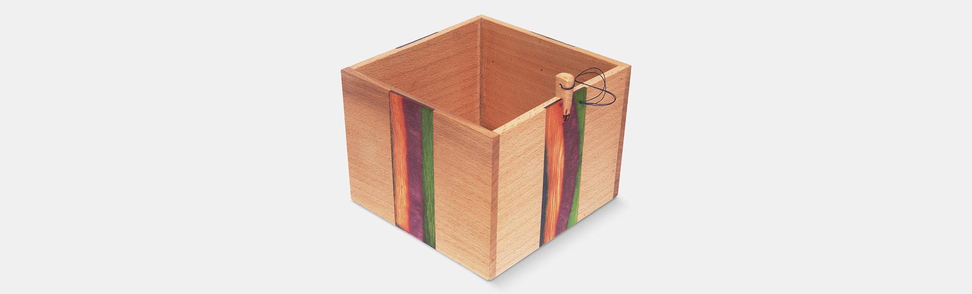 Wooden Yarn Box (Preorder)