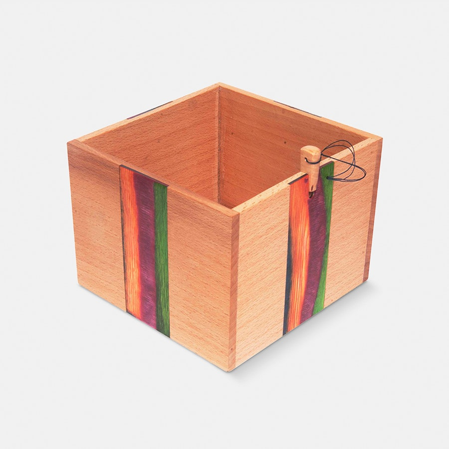 Wooden Yarn Box (Preorder)