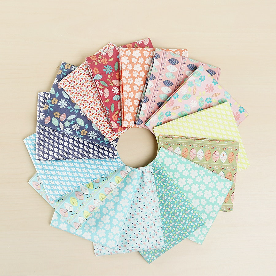Woodland Floral Fat Quarter Bundle