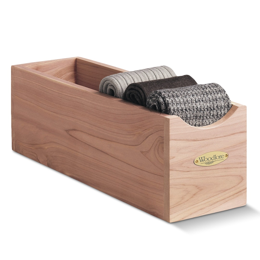 Woodlore Socks Box
