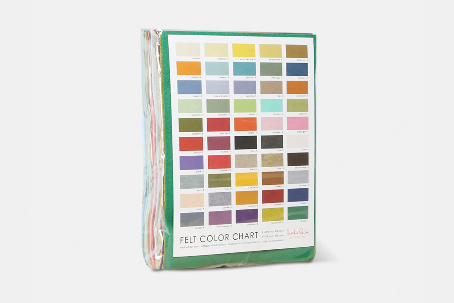 Wool-Blend Felt Pack by Heather Bailey