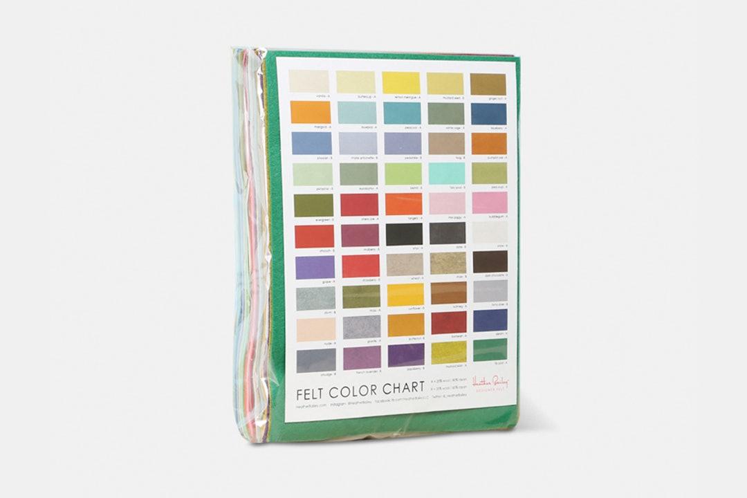 Wool-Blend Felt Pack by Heather Bailey