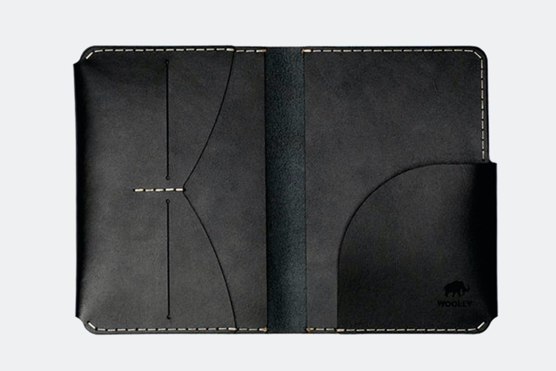 Passport Holder - Black (+ $20)