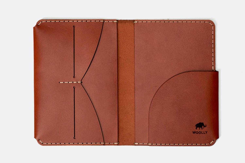 Passport Holder - Brown (+ $20)