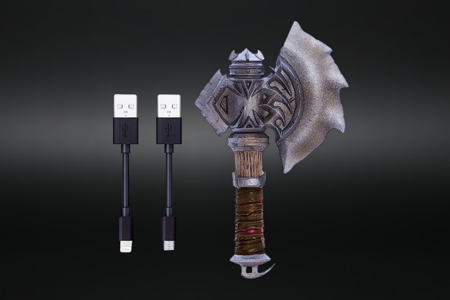 World of Warcraft iPhone/Android Cable Containers