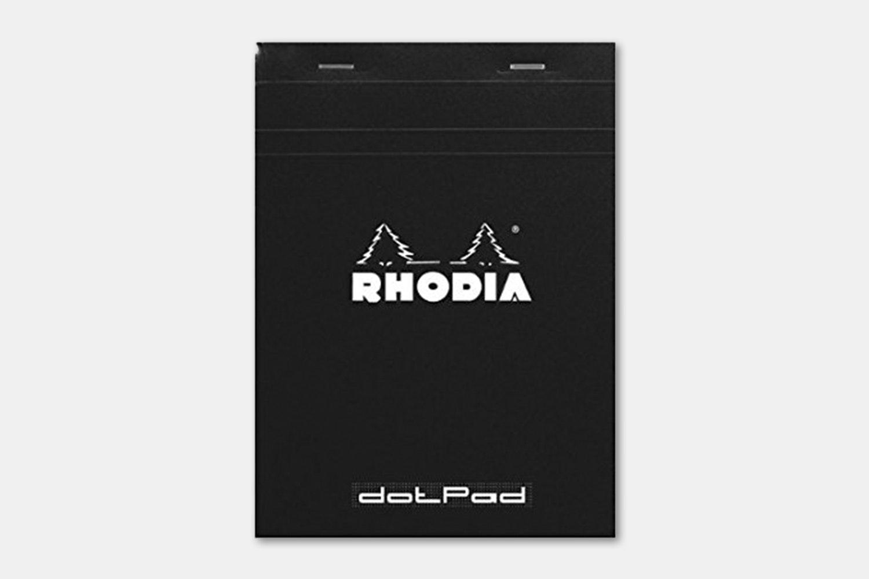 Rhodia No. 18 Notepad - Black