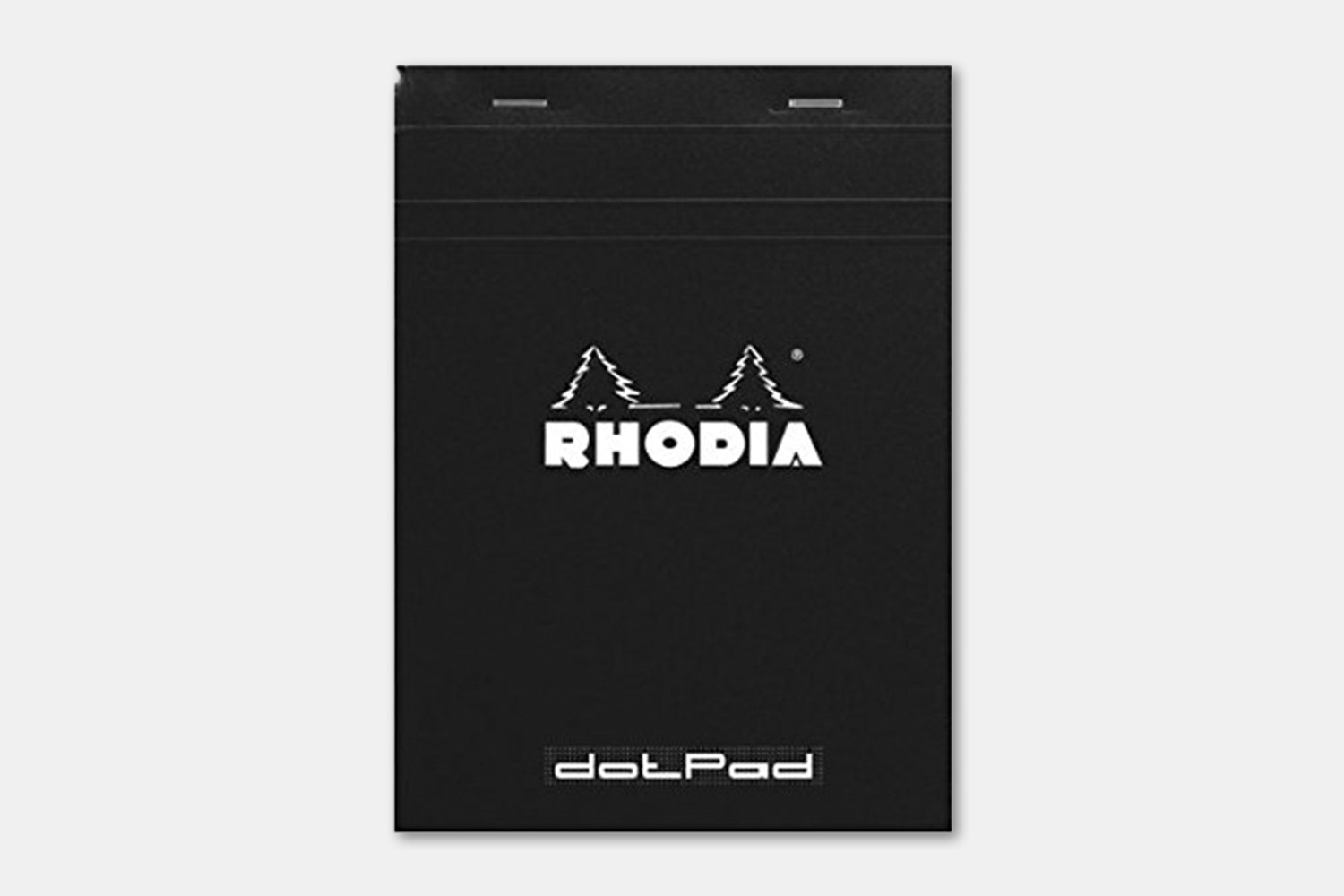 Rhodia No. 18 Notepad - Black