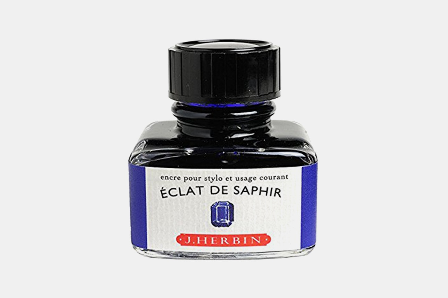 J. Herbin 30ml Bottled Ink -Eclat de Saphir (royal blue)