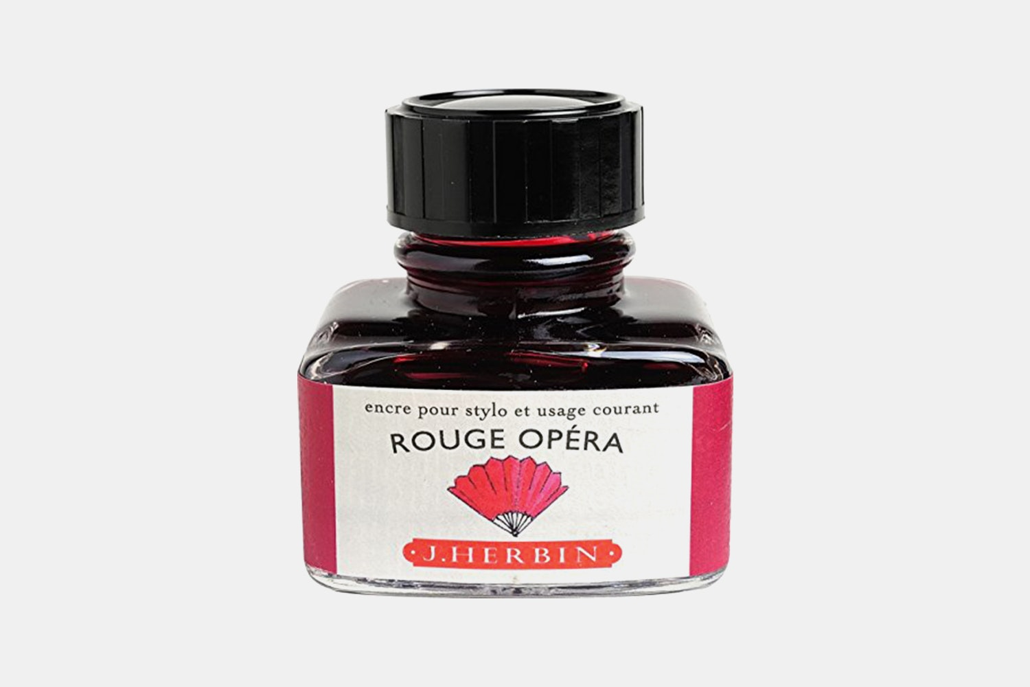 J. Herbin 30ml Bottled Ink - Rouge Opera (red)