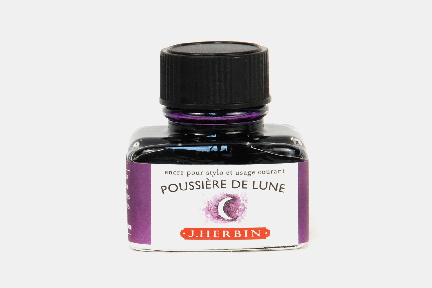 J. Herbin 30ml Bottled Ink -  Poussiere de Lune (moonlight purple)