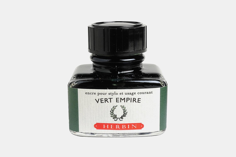 J. Herbin 30ml Bottled Ink -  Vert Empire (deep Green)