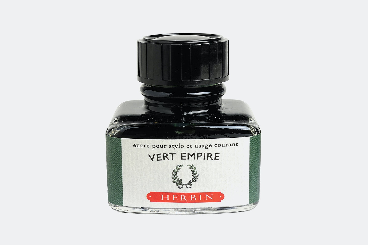 J. Herbin 30ml Bottled Ink -  Vert Empire (deep Green)