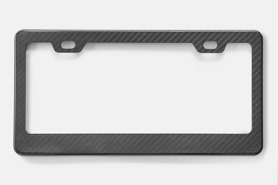 XC Carbon Fiber License Plate Frame | Price & Reviews | Massdrop