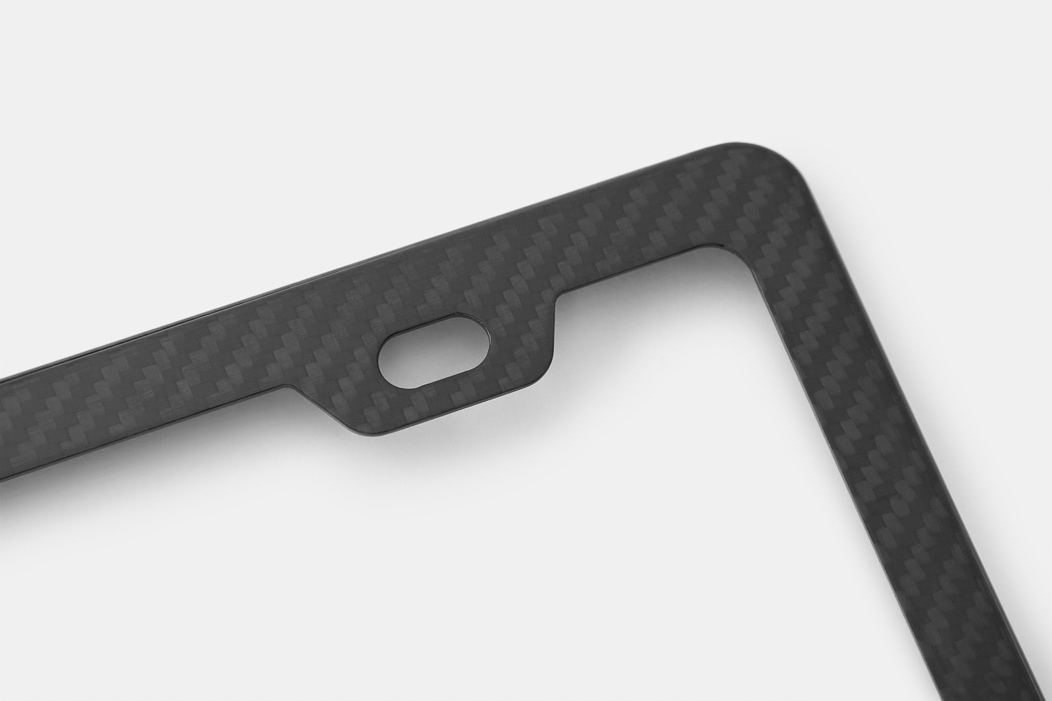 XC Carbon Fiber License Plate Frame