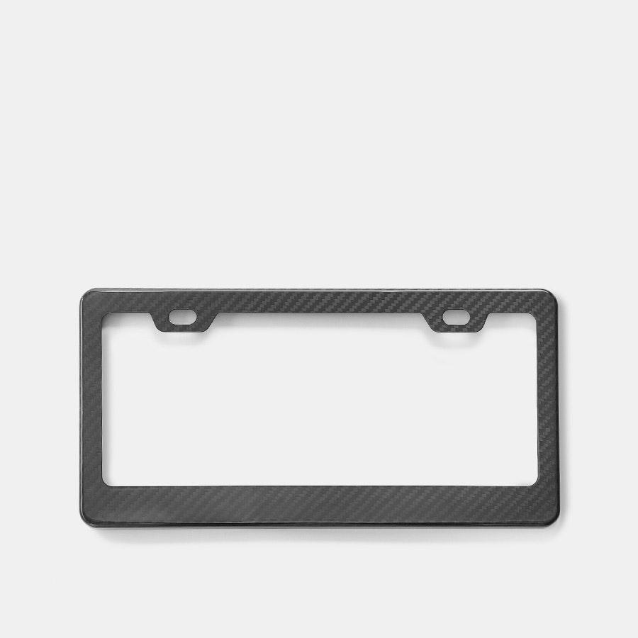 XC Carbon Fiber License Plate Frame