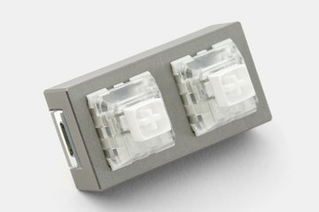 XD002 Hot-Swappable 2-Key Aluminum Macro Pad